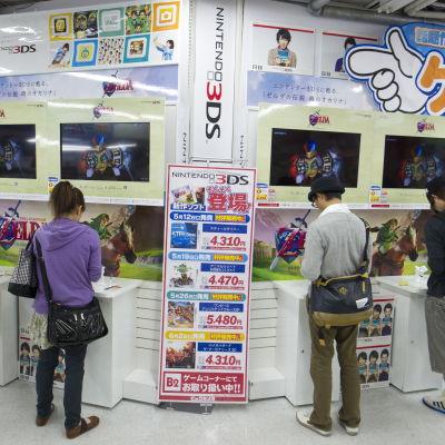 Nintendoaffär i Tokyo