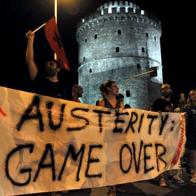 Nej-sidan firar i Thessaloniki