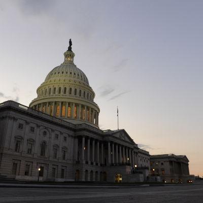 Kongressbyggnaden i USA:s huvudstad Washington i juli 2011.