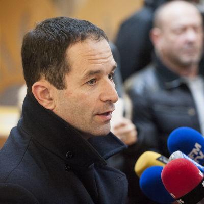 De franska socialisternas presidentkandidat Benoît Hamon.