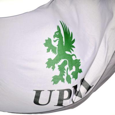 Skogsjätten UPM:s logo.