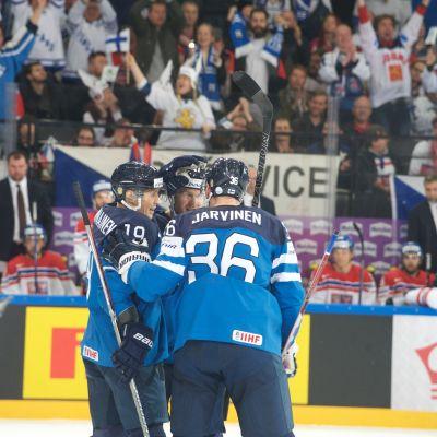 Finland firar mål
