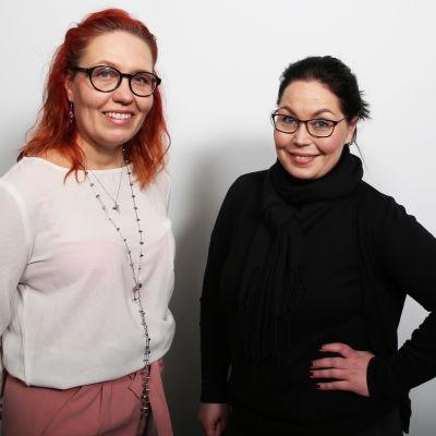 Susanna Ruuhilahti ja Maria Jyrkäs