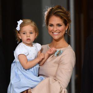 Prinsessan Madeleine och prinsessan Leonore.