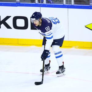 Mikko Rantanen i bronsmatchen 2017.