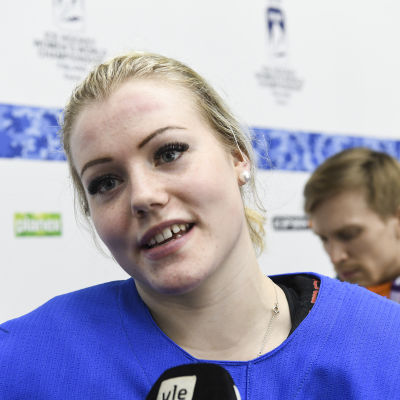 Ronja Savolainen spelar hemma-VM.