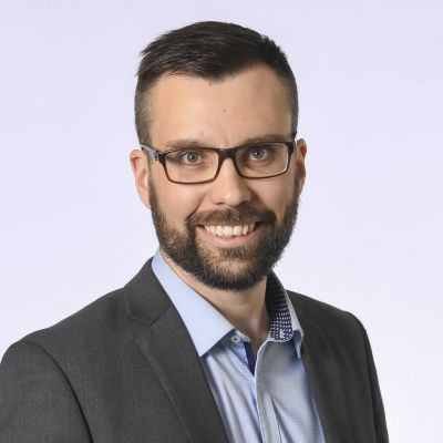Kansanedustaja Johan Kvarnström, SDP.