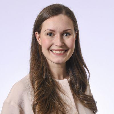 Kansanedustaja Sanna Marin, SDP.