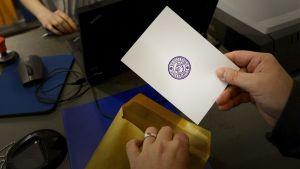 Förhandsröstningen inför EU-valet är igång
