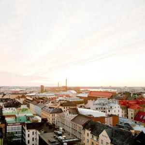 Vy över Helsingforstaken.