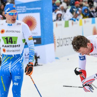 Iivo Niskanen, Emil Iversen.