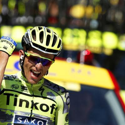 Rafal Majka vann den elfte etappen i Tour de France 2015.