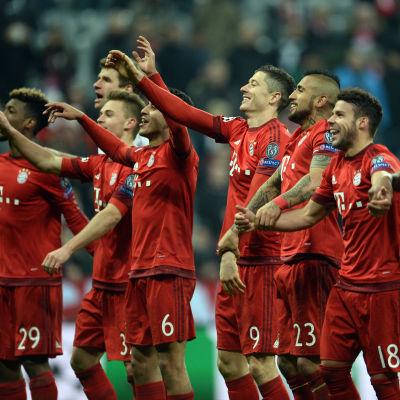 Bayern München efter CL-åttondelsfinalsegern över Juventus.