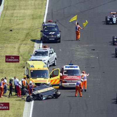 Sergio Perez olycka