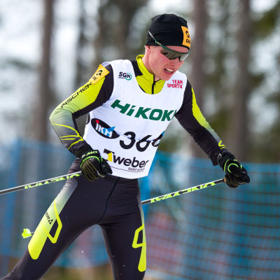 Matti Heikkinen åker fristil