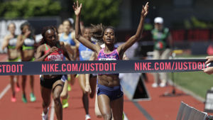 Den amerikanska friidrottens centralort Eugene var ensamma på målrakan när IAAF utsåg arrangörsort för VM 2021.