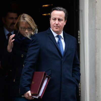 Storbritanniens premiärminister David Cameron 25.11.2014