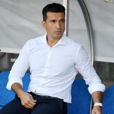 FC Lahden päävalmentaja Ilir Zeneli 18.7. 2020