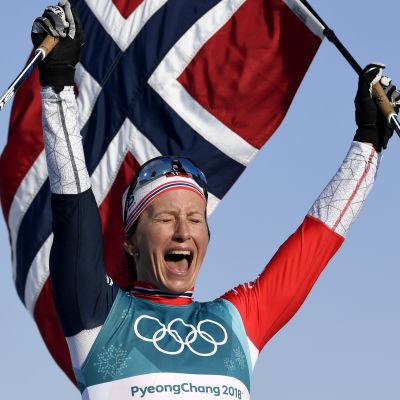 Marit Björgen, OS 2018.
