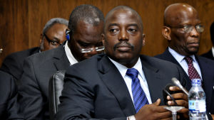 Arkivbild på Joseph Kabila.