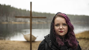 Pastori Nuusa Niskala Rokuan leirikeskuksessa, Oulun seurakunnat, Rippileiri