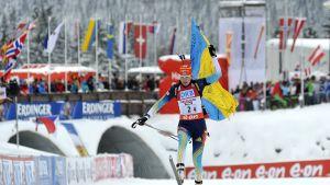 Ukraina vann damstafetten i Hochfilzen