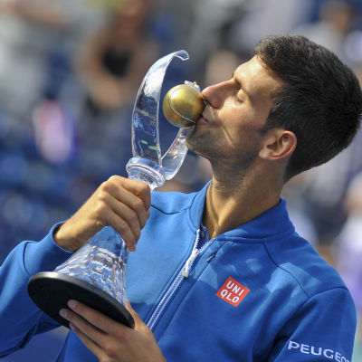 Novak Djokovic vinner Rogers Cup för fjärde gången.