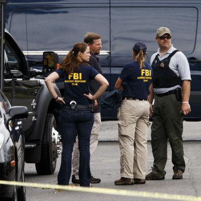 Poliser efter gripandet av Ahmad Khan Rahami i New Jersey