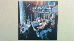 Artisten Nightbird, konvolutet till debutplattan