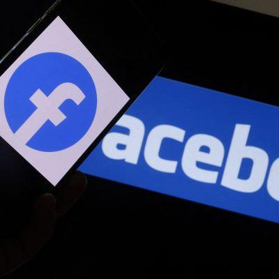 Verkkoyhtiö Facebookin logo.