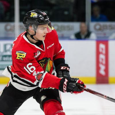 Henri Jokiharju spelade två lyckade säsonger för Portland Winterhawks i WHL.