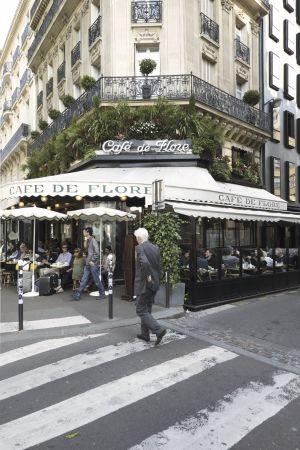 Café de Flore i Paris.