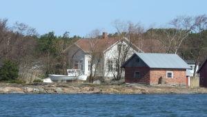 Hyppeis skola i Houtskär.