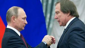 Vladimir putin ja Sergei Roldugi