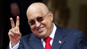 Venezuelas president Hugo Chávez i augusti 2011.