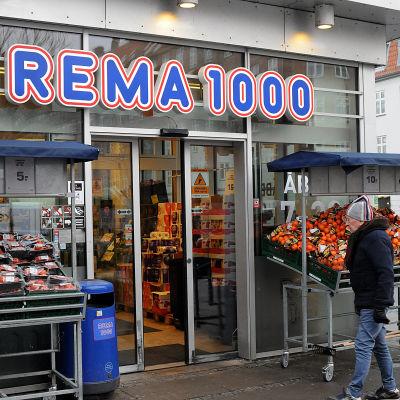 Livsmedelsaffären Rema 1000