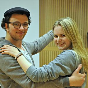 Anton Plogman och Johanna Ahlskog.