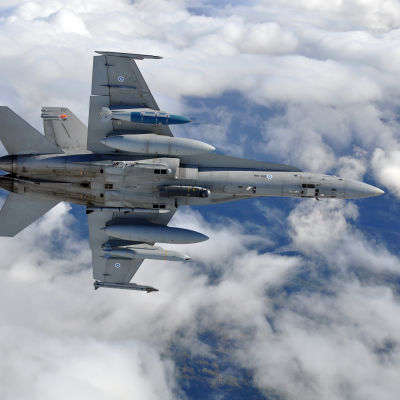 Flygvapnets F/A-18 Hornet-plan