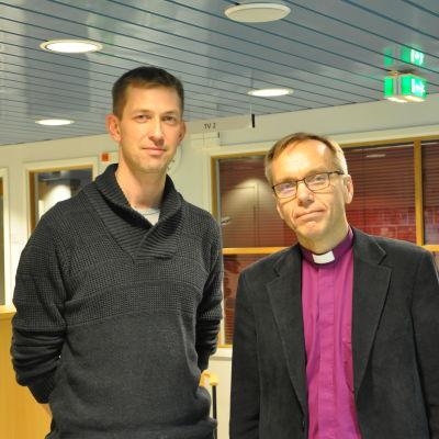 Anders Ahlbäck och Björn Vikström.