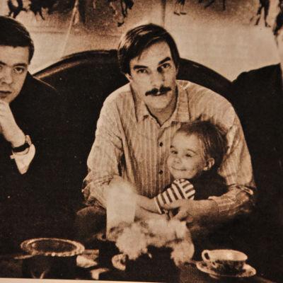 Love records grundarna Chrisse Schwindt, Otto Donner och Atte Blom