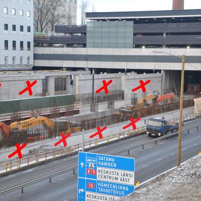 T3-sjukhusbygget vid ÅUCS och dess problembalkar