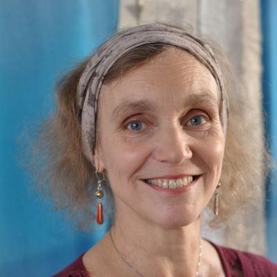 Monica-Vikström Jokela leende.