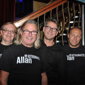 allan and the astronauts, seniorskeppet, radio vega