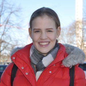 Elisa Liinavuori hör till landslaget i rytmisk gymnastik