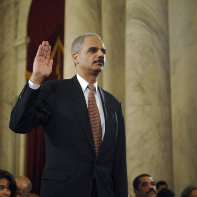 USA:s justitieminister Eric Holder