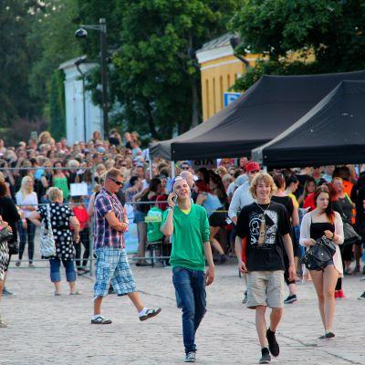 Rakuuna Rock:in portit avautuivat yleisölle