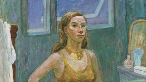 Bild på Tove Janssons självporträtt från 1942.