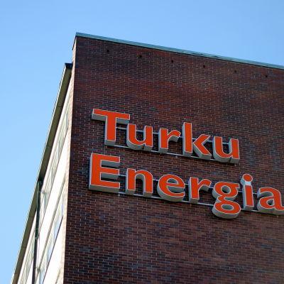 Åbo Energis huvudbyggnad i Åbo.