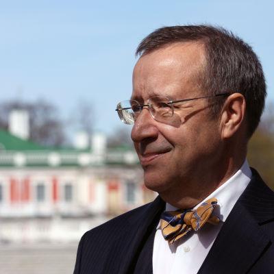 Estlands president Toomas Hendrik Ilves.