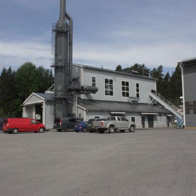 biovärmecentral i pargas